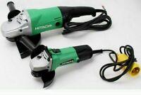 """Hitachi/ HiKoki Tools - Set of 110V 9"""" Grinder & 4 1/2"""" Grinder"""