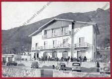 BRESCIA SALE MARASINO 02 ALBERGO MOTTA - AUTO d'EPOCA Cartolina viaggiata 1957