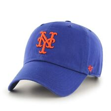 NEW York Mets 47 BRAND MLB Clean Up Adjustable Hat - Royal