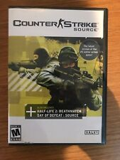 COUNTER STRIKE SOURCE - 2005 PC Video Game Half-Life 2 Deathmatch Day of Defeat