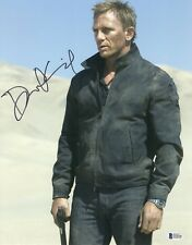 DANIEL CRAIG SIGNED AUTOGRAPH JAMES BOND 007 11X14 PHOTO BAS BECKETT COA  15