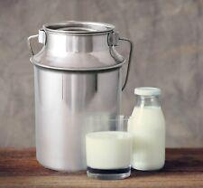 7,5 L/ 6 L/ 4,5L/ 2,5L/ 1,5L  Milchkanne aus rostfreiem Edelstahl  GROß