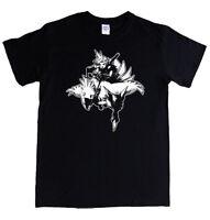 CLOUD on CHOCOBO Final Fantasy T-shirt S - 5XL gamer tee VII 7 MENS LADIES,KIDS