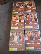 DAWSON'S CREEK...Dawson's Creek...complete series....1-6...34 discs, as new