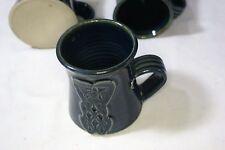 Blue Celtic Love Knot Designed Stoneware Mug