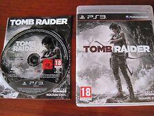 Tomb Raider Ps3 Perfetta 1a Stampa Edizione Italiana + manuale