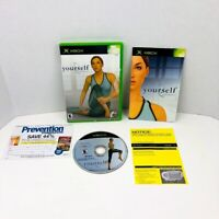 Yourself Fitness Microsoft Xbox Video Game Complete With Manual