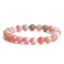 Natural Gemstones Birthstone Handmade Healing Stretch Bracelet 7.0'' Unisex N50