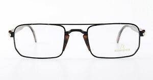 RODENSTOCK Glasses Model R7167 B 53 23/20 140 Square Eye Frame Black Brown Men