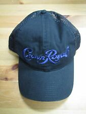 Crown Royal Whiskey Mesh Trucker Adjustable Hat! Rare! Brand New!