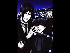 Black Butler Anime Kuroshitsuji Collectable Ciel Sebastian New Print Card