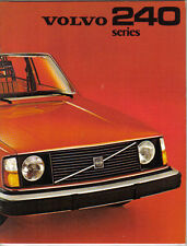 Volvo 244 245 DL GL DLE 1974-75 Original UK Sales Brochure Pub No RSP/PV 1814-75