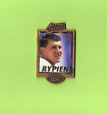 1994 Mark Rypien Redskins Action Packed Football FB Logo NFL Lapel Pin