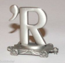 PEWTER LETTER 'R CAR FORT GIFT LASTING EXPRESSIONS