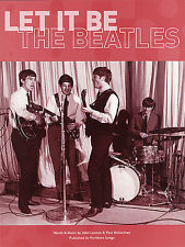 The Beatles Let It Be Learn to PLAY Pop Piano Guitar PVG SHEET Music Book