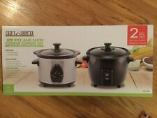 Chef's Counter Rice & Slow Cooker Combo Set