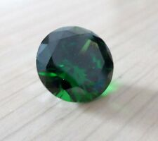 4.89ct AAA Natural Mined Green Emerald Round Faceted Cut 10mm VVS Loose Gemstone