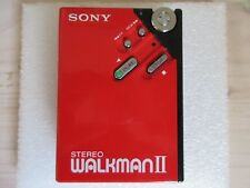 Vintage SONY WM-2 Stereo Walkman Cassette Player  - New Belt - MINT