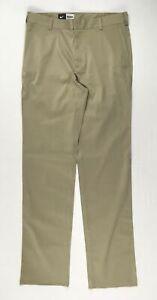 Nike Pants Men's Tan Unhemmed Dress New Multiple Sizes
