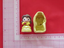 Princess Beauty Character Silicone Mold A848 Candy Chocolate Fondant Wax Resin