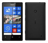 Original Unlocked Nokia Lumia 520 8GB Smartphone Windows Phone 8 5MP Black
