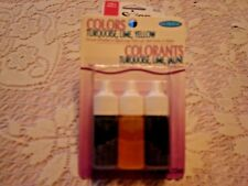 Soap Making Colors Set; Soap making supplies; life of the party 3 color set BNIP