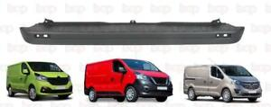 RENAULT TRAFIC REAR BUMPER 2014 -2019 CENTRE SECTION TEXTURED  READY TO FIT