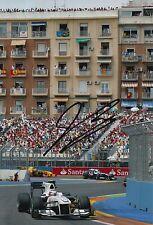 Kamui Kobayashi Hand Signed 12x8 Photo Sauber F1.