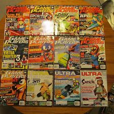 Game Players Ultra EGM GamePro GameFan 12 Subscriber Issues 1996 MINT