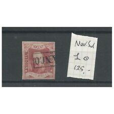 Ned.Indie  1 Willem III 1864   VFU/gebr  CV 125 €