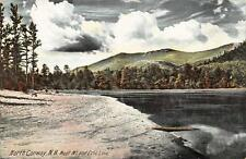 NORTH CONWAY, NH  New Hampshire   MOAT MOUNTAIN & ECHO LAKE     c1910's Postcard