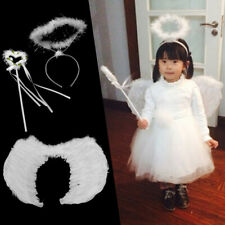 Feather Angel Wings Halo Fairy Wand For Children Cosplay Performance Costume