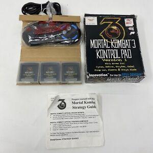 Mortal Kombat 3 Kontrol Pad for Sega Genesis - Version 1 - New In OPEN Box