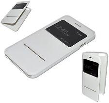 HOUSSE COQUE ETUI CUIR FLIP COVER VIEW BLANC pour pour IPHONE 6 PLUS
