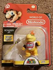 "Bowser Jr. 4"" Jakks Pacific World of Nintendo Action Figure"