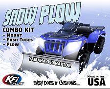 "Yamaha 350 Raptor - 2005-2006  KFI ATV 48"" Snow Plow Combo Kit"
