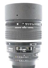 Nikon AF DC-NIKKOR 105mm F2 D Defocus Image Control Lens No. 204253 Excellent