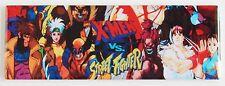 X-Men vs Street Fighter Marquee FRIDGE MAGNET (1.5 X 4.5 inches) arcade game