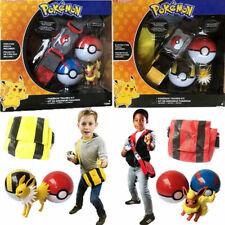 Pokemon Fgures Poke Ball Belt Backpack Clip N GO Carry Toys Backpack Kids Gift