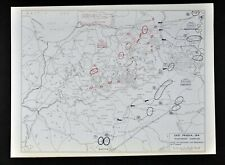 West Point WWI Map East Prussia 1914 Battle Tannenberg Campaign Germany Russia