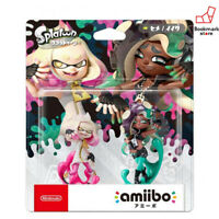 NEW Nintendo Amiibo Pearl & Marina 2-Pack Set Splatoon Switch Wii U from Japan