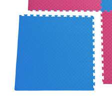 1x Sportmatte/Steckmatte rot-blau 1,02x1,02x0,02 m Fitness/Pekip/Yoga/Gymnastik