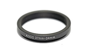 Stepping Ring 37mm - 34mm Step Up Ring 37-34mm 37mm to 34mm Ring