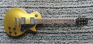 Jay Turser Gold Colored Les Paul Guitar (Pretty Lightweight, 7 pounds)