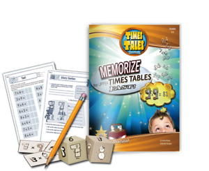 Multiplication Times Tales Workbook Upper Times Tables Dyslexia Dyscalcul 104 pg
