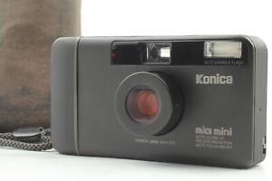 [Top MINT] Konica Big Mini BM-301 Black Point & Shoot Film Camera From JAPAN