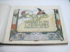1917 Strong's Book of Designs w/ Art Nouveau Signs, Cards, Posters & More NICE