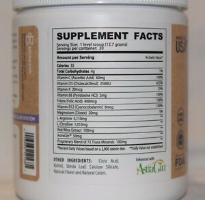 L Arginine Plus Citrulline Grape 5,110mg L-arginine 1,010 L-citrulline 30 servs