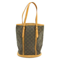 LOUIS VUITTON Monogram Bucket GM Shoulder Bag M42236 LV Auth 15962 **Sticky
