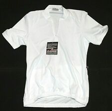 Womens NWT Pace V-Tech Cycling Jersey 11-0010-1 Size Medium White